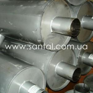 256-1201010, глушитель КрАЗ
