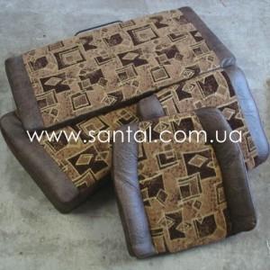 Комплект подушек сиденья кабины КрАЗ (полный), запчасти краз