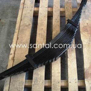 251-2902012-02, Рессора передняя КрАЗ в сборе (17-ти листовая), запчасти краз