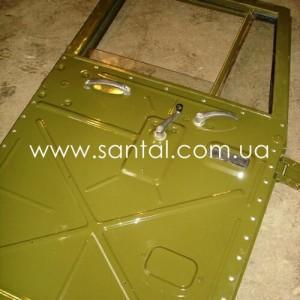 255Б-6100012, Дверь кабины КрАЗ в сборе (правая)
