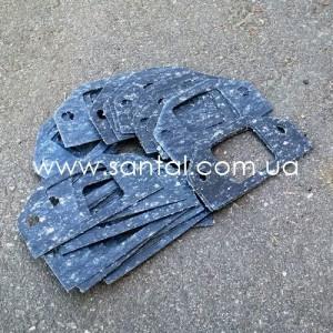 255-1303017 Прокладка распределительного патрубка КрАЗ, запчасти КрАЗ