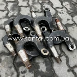 5336-3001035, Рычаг продольной рулевой тяги КрАЗ, МАЗ, запчасти КрАЗ