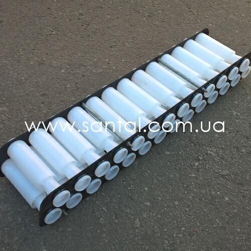 Блок циклонов воздушного фильтра КрАЗ