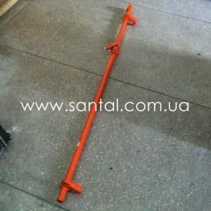65032-8505116-10, Вал запорного механизма заднего борта КрАЗ, запчасти КрАЗ