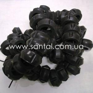 65055-1302060, Подушка опоры радиатора КрАЗ