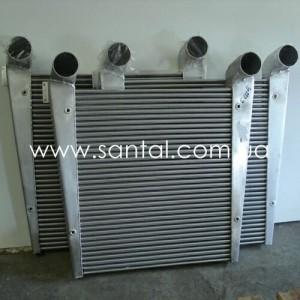 65055-1323010, Интеркулер КРАЗ, охладитель наддувочного воздуха краз, запчасти КрАЗ