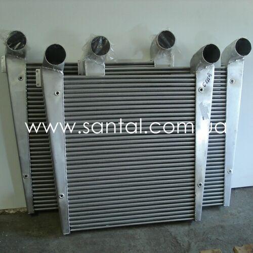 Охладитель наддувочного воздуха КрАЗ, (интеркулер)